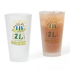 Happy 21st Birthday Pint Glass