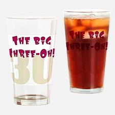 Big Three-Oh 30th Birthday Pint Glass