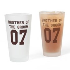 Brother of the Groom 07 Pint Glass