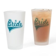 Blue Vintage Bride Pint Glass