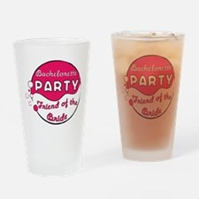 Bride's Friend Bachelorette Pint Glass