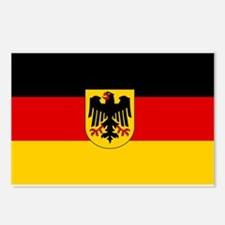 German Government Flag Postcards (Package of 8)