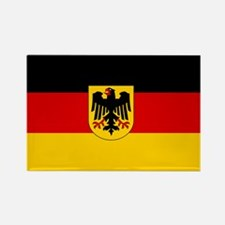 German Government Flag Rectangle Magnet
