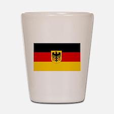 German Government Flag Shot Glass