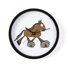 Cool Standardbred horse Wall Clock