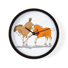 Funny Welsh cob Wall Clock
