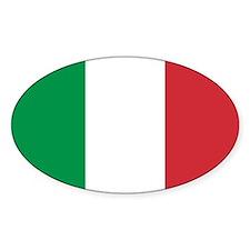 Italian National Flag Decal