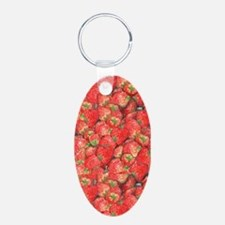 Strawberries Keychains