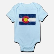 Colorado Flag Infant Bodysuit