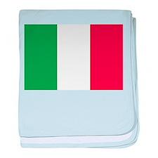Italian National Flag baby blanket