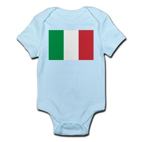 Italian National Flag Infant Bodysuit