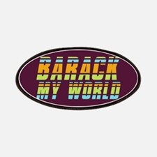 Barack My World Patches