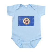 Minnesota Flag Infant Bodysuit