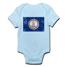 Virginia Flag Infant Bodysuit
