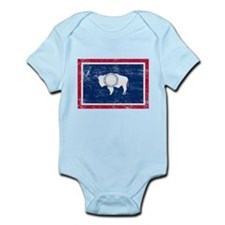 Wyoming Flag Onesie