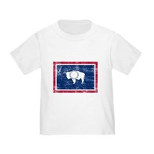 Wyoming Flag T