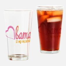 Obama Valentine Pint Glass
