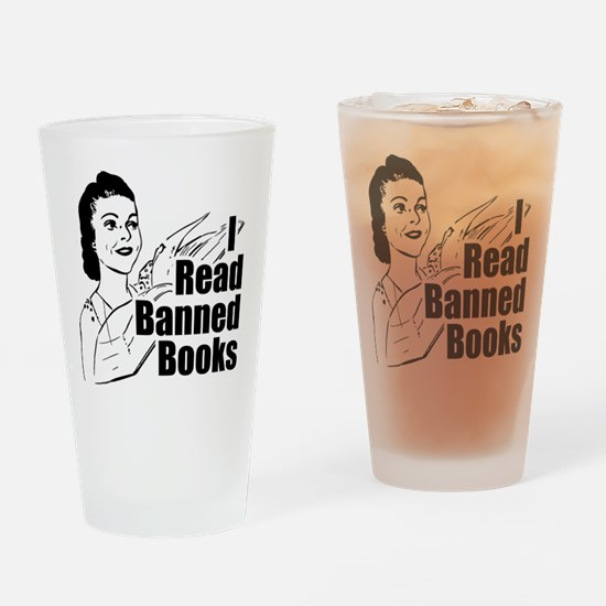 Read Banned Books Pint Glass