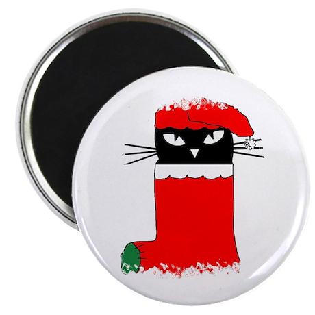 "CHRISTMAS KITTY 2.25"" Magnet (100 pack)"