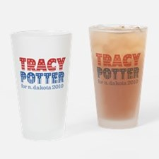 Tracy Potter 2010 Pint Glass