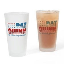Quinn for Governor Pint Glass