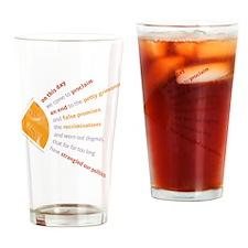 Custom Obama Pint Glass