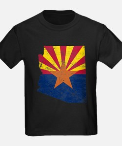 Arizona Flag Map T