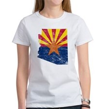 Arizona Flag Map Tee