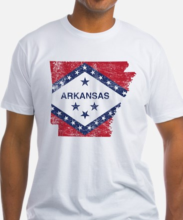 Arkansas Flag Map Shirt