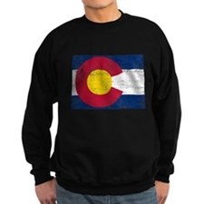 Colorado Flag Map Sweatshirt