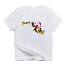 Maryland Flag Map Infant T-Shirt