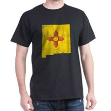 New Mexico Flag Map T-Shirt