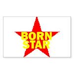 BORN STAR III Sticker (Rectangle 10 pk)