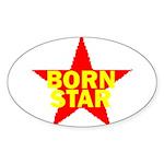 BORN STAR III Sticker (Oval 10 pk)