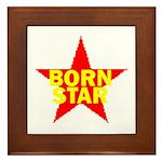 BORN STAR III Framed Tile