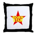 BORN STAR III Throw Pillow