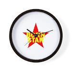 BORN STAR III Wall Clock