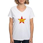 BORN STAR III Women's V-Neck T-Shirt