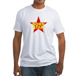 BORN STAR III Fitted T-Shirt