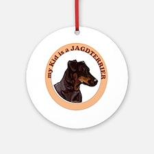 Jagdterrier Kid Ornament (Round)