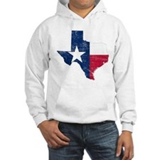 Texas Flag Map Hoodie