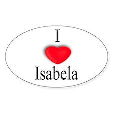 Isabela Oval Decal