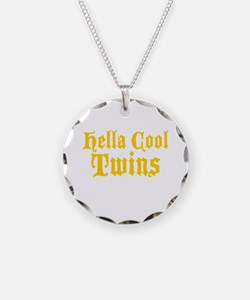 hella Cool Twins Necklace