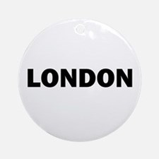 LONDON Ornament (Round)