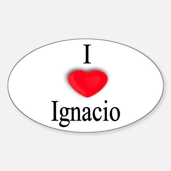 Ignacio Oval Decal