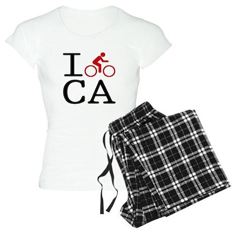 I Bike California Women's Light Pajamas