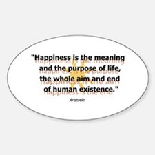 Happiness by Aristotle Decal