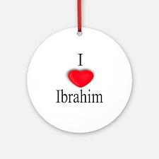 Ibrahim Ornament (Round)