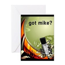 got mike? Greeting Card