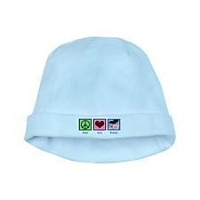 Peace Love Massage baby hat